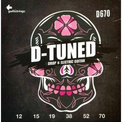 Gallistrings D670 D-Tuned el-guitar Strenge front