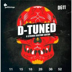 Gallistrings D610 D-Tuned el-guitar Strenge 11-52 front