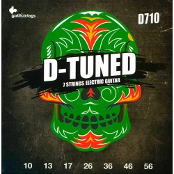 Gallistrings D710 D-Tuned el-guitar 7-Strenge 11-60 front