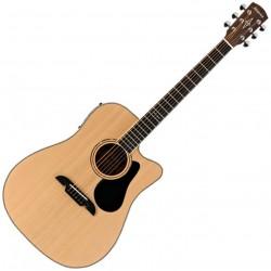 Alvarez AD60CE Western guitar m/cutaway front