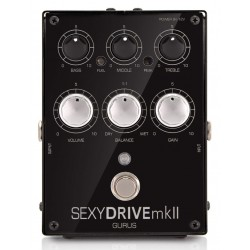 Gurus SexyDRIVE mkII Preamp Overdrive Pedal