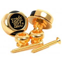Ernie Ball P-4602 Super Lock Straplocks guld