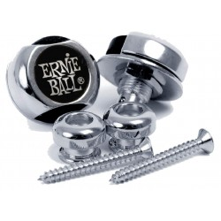 Ernie Ball P-4600 Super Lock Straplocks Nikkel