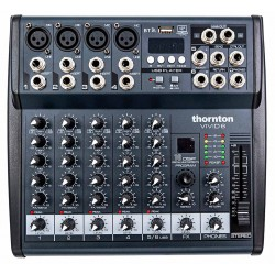 Thornton Vivid 6 mixer 6-kanaler front