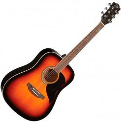 Eko Ranger 6-BWN western guitar front