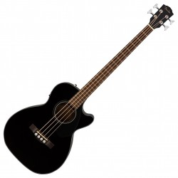 Fender CB-60SCE Electro Akustisk Bas Sort front