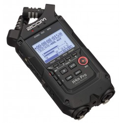 Zoom H4N Pro Black 4-spors Recorder (optager) Front