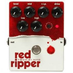 TECH 21 NYC RED RIPPER v.2 Bass Fuzz/Distortion (Brugt)