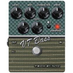 TECH 21. NYC Character Series VT BASS v.2 (Brugt)