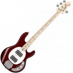 Music Man Sterling Ray4HH, Candy Apple Red elbas front