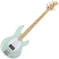 Music Man Sterling SUB Ray4 MN Mint Green elbas front