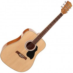 Richwood RD-12 Western guitar Natural front