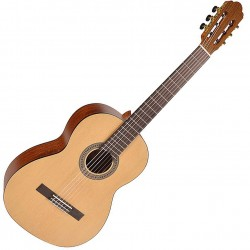 Salvador Cortez CS244 Klassisk/spansk guitar 4/4 front