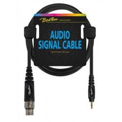 Boston Audio Signal Kabel 3 meter XLR/Mini Jack Stereo