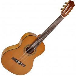 Salvador Cortez CC06JR Student Junior kl./spansk guitar 3/4 Back front