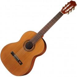 Salvador Cortez CC10SN Klassisk/Spansk guitar 7/8 Front