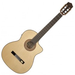 Salvador Cortez CF-55TCE Flamenco Thinline Guitar