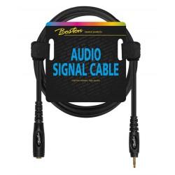 Boston AC-246-150 Audio kabel Jack Stereo hun - mini-Jack stereo han 1,5 m