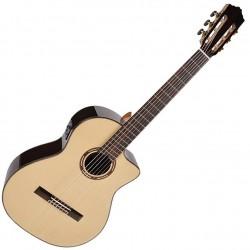 Salvador Cortez CS-600CE Fusion Klassisk guitar m. pickup front