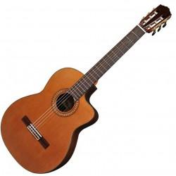 Salvador Cortez CC60CE Klassisk/spansk guitar m. pickup front