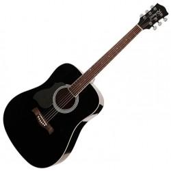 Richwood RA-12-BK Western guitar Black