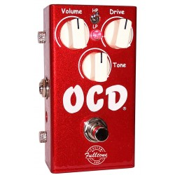 Fulltone OCD V2 Limited Edition Overdrive Candy Apple Red (Brugt