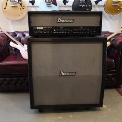 Ibanez Tone Blaster 100H + TB412 angled 4X12
