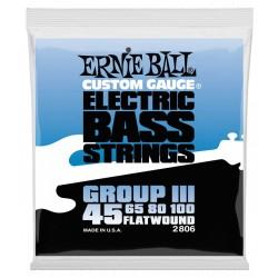 Ernie Ball 2806 Flatwound Semi-flex 45-100 el-bas strenge