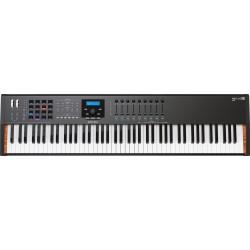 Arturia KeyLab Essential-88 Black Edition USB Controller keyboard front