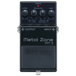 BOSS Metal Zone MT-2 3A 30th Anniversary Edition front
