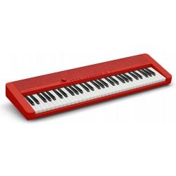 Casio Casiotone CT-S1 RD elklaver 61-tangenter rød