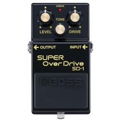 Boss 40-års jubilæum Limited Edition SD-1 Super Overdrive front