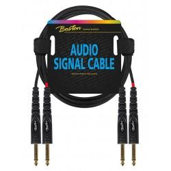 Boston AC-233-075 2 x Mono Jack kabel