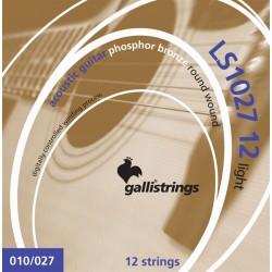Gallistrings LS1027 12 Phosphor Bronze 10-27 westernstrenge