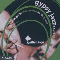 Gallistrings GSL10 Gypsy Jazz akustisk guitar strenge