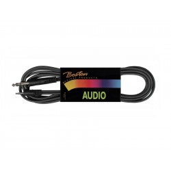 Boston Audiokabel Stereo Jack/Minijack 3 meter