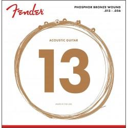 Fender 60L Phosphor Bronze 13-56 Western Strenge