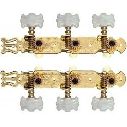 Dr.Parts CMH0351-GD stemmeskruer sæt Gold