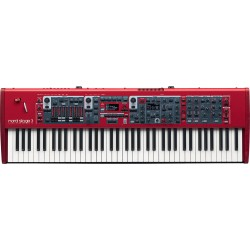 Nord Stage 3 76 Hammer Action Keyboard front
