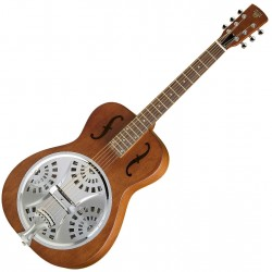 Dobro Hound Dog Round Neck VB Resonator guitar front