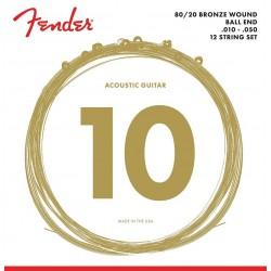 Fender 70L-12 80/20 12.str 10-50 Western Strenge