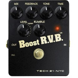 TECH 21. NYC Boost RVB Reverb
