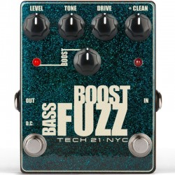 TECH 21. NYC Bass Boost Fuzz
