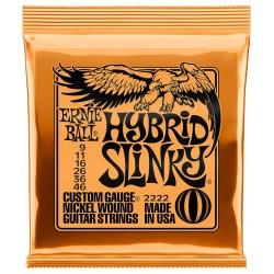 Ernie Ball 2222 Hybird Slinky 9-46 elguitar strenge