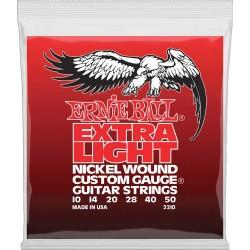 Ernie Ball 2210 Extra Light 10-50 elguitar strenge
