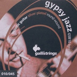 Gallistrings GSB10 Gypsy Jazz akustisk guitar strenge