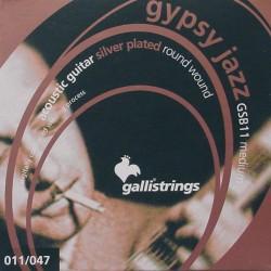 Gallistrings GSB11 Gypsy Jazz akustisk guitar strenge