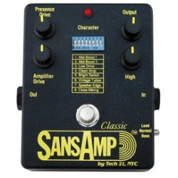 TECH 21. NYC SansAmp Classic