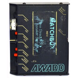 Award-Session Matchbox MB12 DI-Box m. speakersimulering