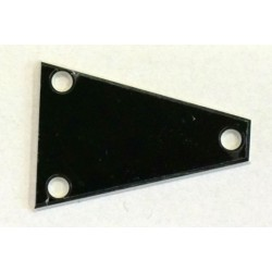 Sleipner Truss Rod Cover Triangle i sort